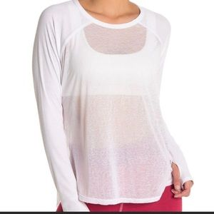 Free people bounce back sleeve top
